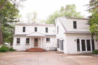 Harrison Twp Single Family Home For Sale: 28800 Old North River