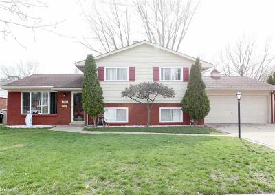 Sterling Heights Single Family Home For Sale: 8880 Ardel