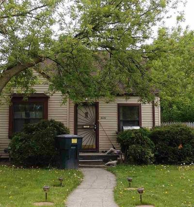 Detroit Single Family Home For Sale: 16110 Eastburn