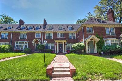 Detroit Condo/Townhouse For Sale: 8110 Saint Paul