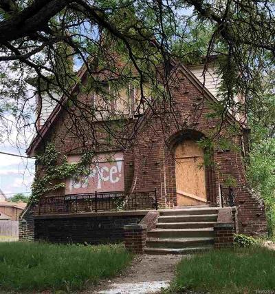 Detroit Multi Family Home For Sale: 16260 Princeton
