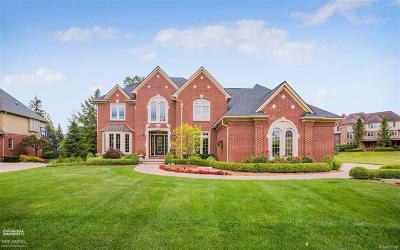 Shelby Twp Single Family Home For Sale: 54498 Carrington