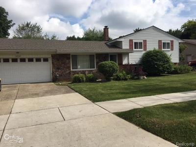 Shelby Twp, Utica, Sterling Heights, Clinton Twp Single Family Home For Sale: 23147 Demley