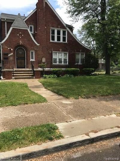 Detroit Single Family Home For Sale: 17300 Kentucky