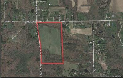 Washington Twp Residential Lots & Land For Sale: 31 Mile
