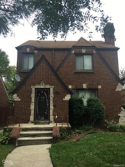 Detroit Single Family Home For Sale: 15348 Winthrop