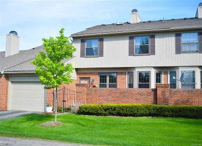 West Bloomfield, West Bloomfield Twp Condo/Townhouse For Sale: 7304 Westchester Road