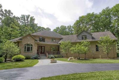 Bruce Twp Single Family Home For Sale: 3620 33 Mile Road