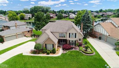 Shelby Twp Single Family Home For Sale: 48360 Lake Valley Dr