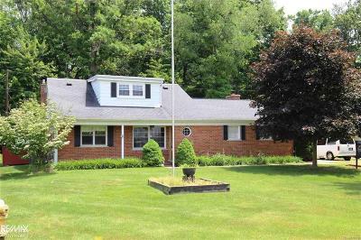 Macomb Twp Single Family Home For Sale: 47868 Sonnett St