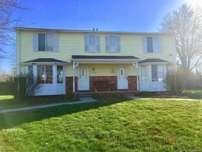 St Clair Shores, Roseville, Fraser, Harrison Twp Single Family Home For Sale: 27030 Campau Ln