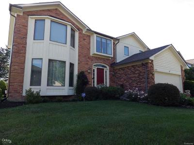 Clinton Twp Single Family Home For Sale: 41225 Scarborough