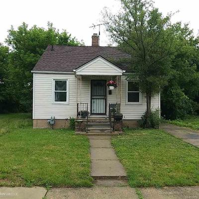 Detroit Single Family Home For Sale: 13853 Tacoma