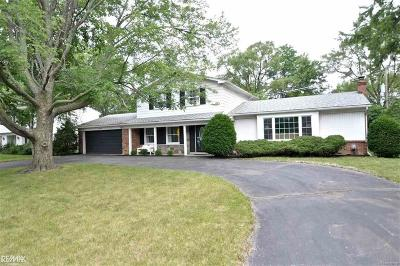 West Bloomfield Single Family Home For Sale: 30574 W 14 Mile