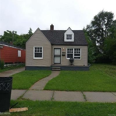 Detroit Single Family Home For Sale: 13628 Tacoma