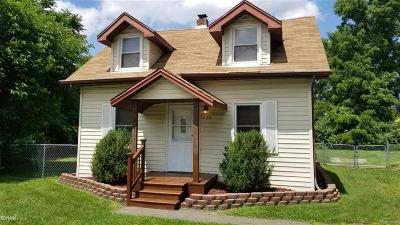 Troy Single Family Home For Sale: 1035 Kelley