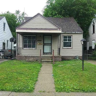 Detroit Single Family Home For Sale: 13424 Tacoma