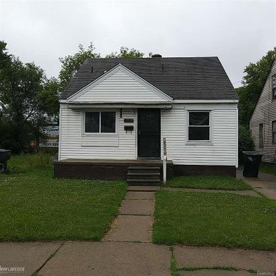 Detroit Single Family Home For Sale: 13540 Tacoma