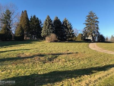 Bloomfield Twp Residential Lots & Land For Sale: 3080 Chickering