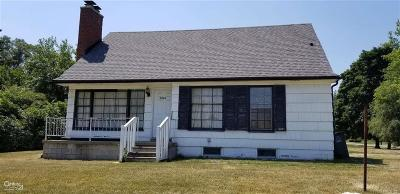 Troy Single Family Home For Sale: 3595 Crooks