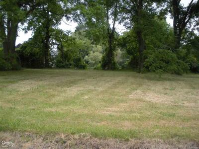 Harrison Twp Residential Lots & Land For Sale: N River (Parcel #3)