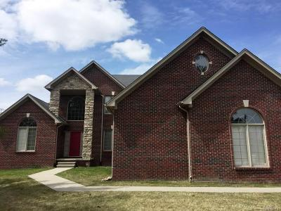 Shelby Twp MI Single Family Home For Sale: $499,999