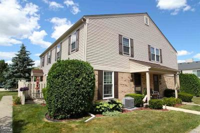 Clinton Twp Condo/Townhouse For Sale: 15794 Charleston