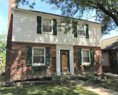 Detroit Single Family Home For Sale: 4384 Bishop