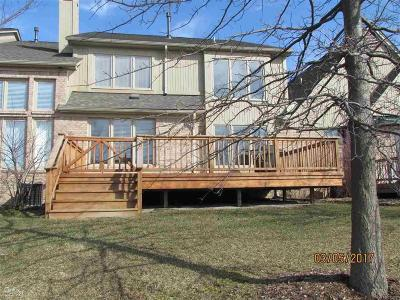Shelby Twp Condo/Townhouse For Sale: 46741 Emerald Creek Dr