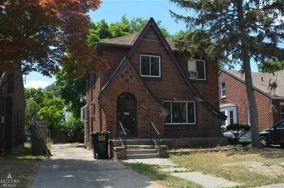 Detroit Single Family Home For Sale: 4343 Bedford