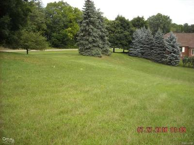 Washington Twp Residential Lots & Land For Sale: 5909 Lakeview