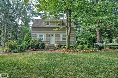 Rochester, Rochester Hills, Shelby Twp Single Family Home For Sale: 11290 24 Mile Road