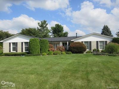 Bruce Twp Single Family Home For Sale: 69394 Saxon