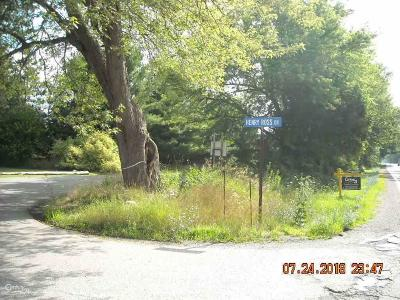 Bruce Twp Residential Lots & Land For Sale: 33 Mile Rd