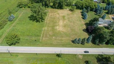 Washington Twp Residential Lots & Land For Sale: 12721 27 Mile Road