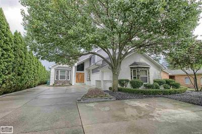 Harrison Twp Single Family Home For Sale: 38014 Lakeshore Drive