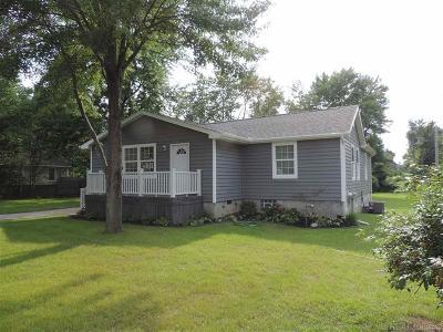 Shelby Twp Single Family Home For Sale: 47833 Burton