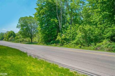 Shelby Twp Residential Lots & Land For Sale: 11855 25 Mile