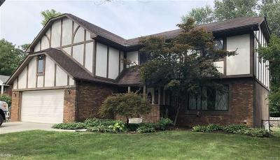St Clair Shores, Roseville, Harrison Twp, Fraser Single Family Home For Sale: 24701 Delwood