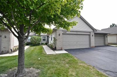 Shelby Twp MI Condo/Townhouse For Sale: $179,900