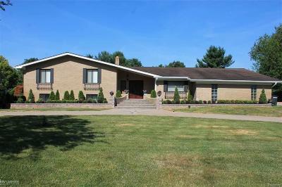 Washington Twp Single Family Home For Sale: 60651 Mound