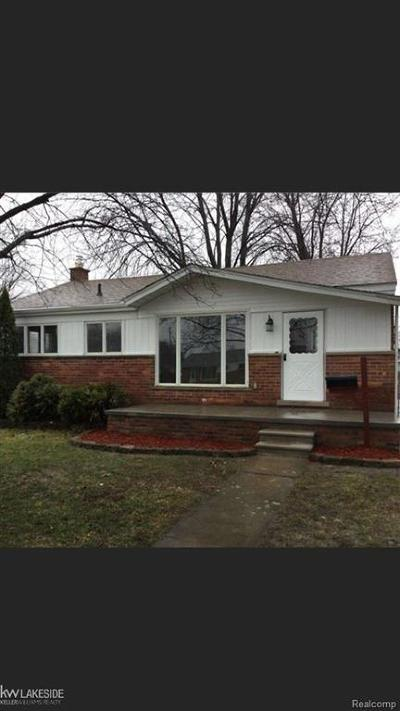 Wayne County, Oakland County, Macomb County Single Family Home For Sale: 32223 Avondale
