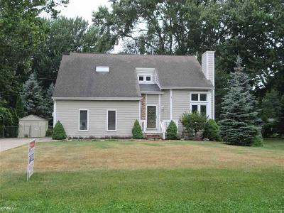 St Clair Shores, Roseville, Harrison Twp, Fraser Single Family Home For Sale: 38335 Winkler
