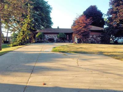 Harrison Twp Single Family Home For Sale: 26669 S River Rd