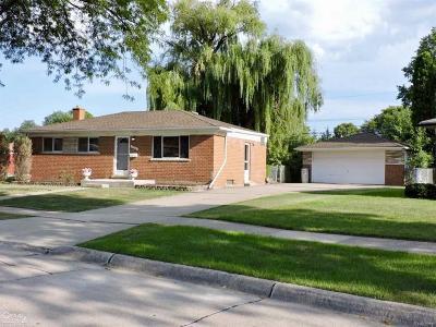 Warren Single Family Home For Sale: 13266 Hartlein