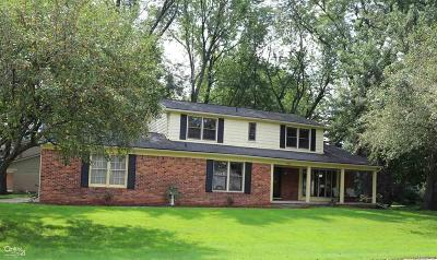 Shelby Twp MI Single Family Home For Sale: $309,500