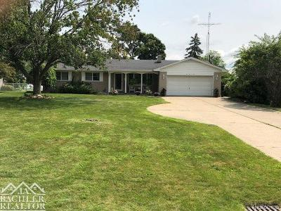 East China Twp Single Family Home For Sale: 5909 Urban
