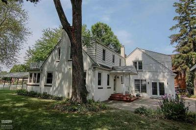 Harrison Twp Single Family Home For Sale: 28800 Old North River Rd.