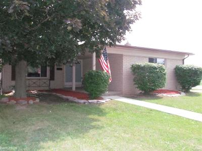 Sterling Heights MI Single Family Home For Sale: $205,000