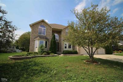 Chesterfield Twp Single Family Home For Sale: 47637 Burlingame